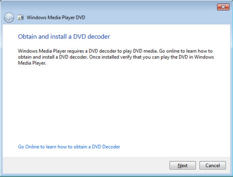 DVD Not Working Problem on Windows Media Player -Solved!