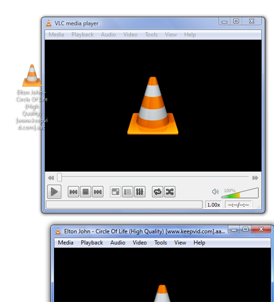 hevd player - vlc player