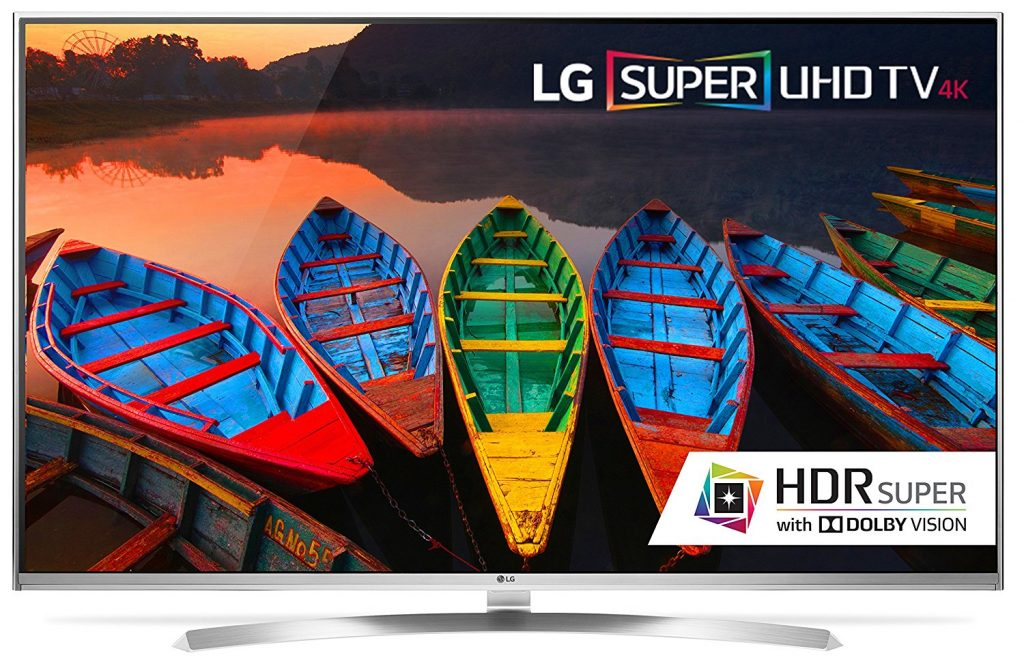 LG UH8500 Series Super UHD Series LED/LCD TVs