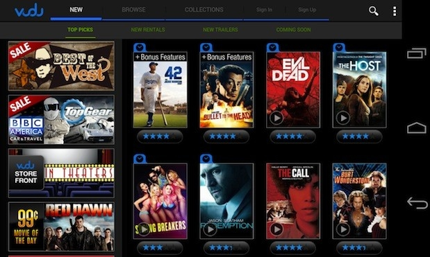 vudu 4k video streaming