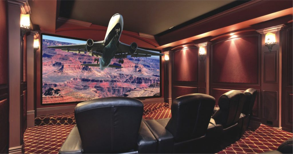 Create special 3D home theatre