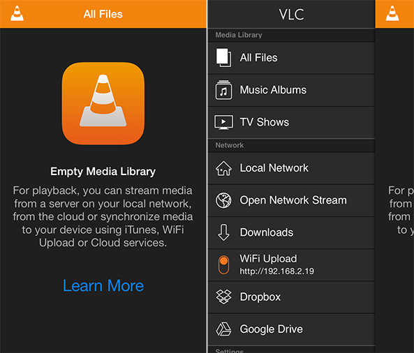 vlc to iPhone