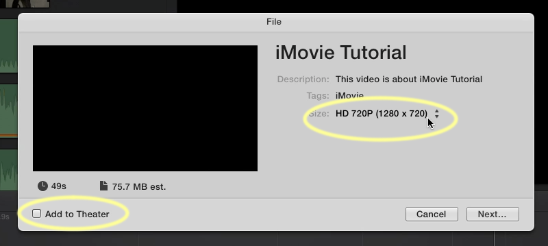 How to upload videos edited in iMovie to Instagram?