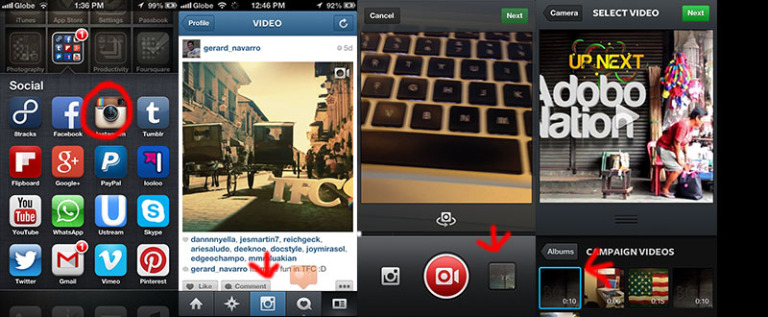 How to Upload Adobe After Effects video to Instagram?