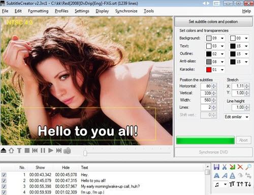 subtitle creator