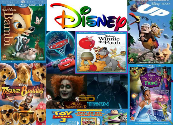 Copy Disney DVD Movies with Multiple Languages for Kids