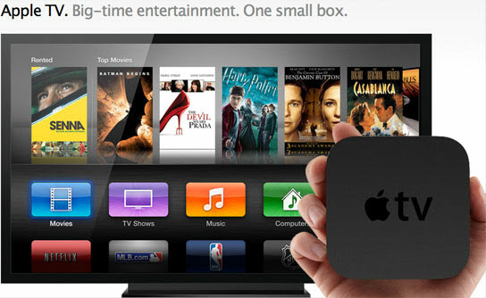Play Internet torrents movies on Apple TV 3, Apple TV 2 and Apple TV