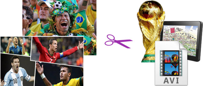Easy Way to Convert FIFA World Cup Brazil videos to AVI