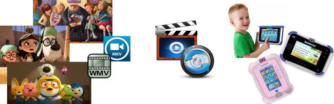 Play MKV/AVI/VOB/M2TS/Tivo/MPG/WMV on InnoTab MAX/3S Plus/3 Plus