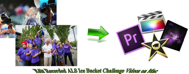 Edit Recorded ALS Ice Bucket Challenge Videos on Mac
