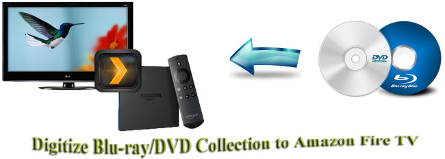 Digitize Blu-ray/DVD Collection to Amazon Fire TV with Plex