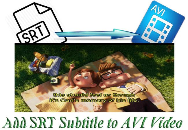 Add SRT Subtitle Files to AVI on Mac/Win (Windows 8.1 included)