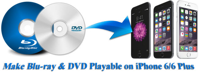 How to Put Blu-ray & DVD to iPhone 6/6 Plus?