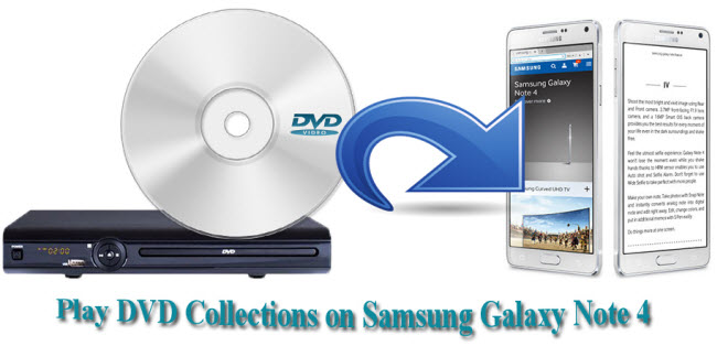 How to Play DVD Collections on Samsung Galaxy Note 4?