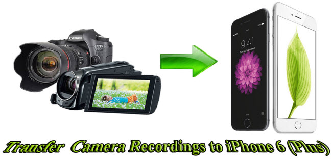 Transfer MXF/MTS/MOV/MP4 Videos from Cameras to iPhone 6 (Plus)