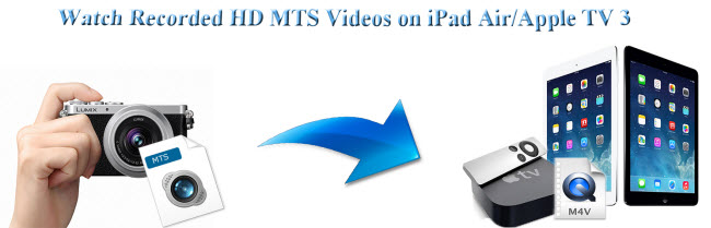 How to Convert HD MTS to M4V for Playback on iPad Air/Apple TV 3?