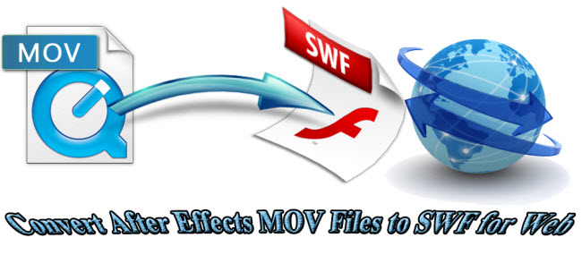 How to Convert After Effects MOV Files to SWF for Web?
