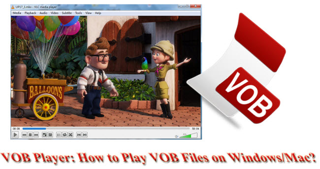 VOB Player: How to Play VOB Files on Windows/Mac?