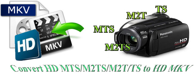 Convert HD MTS, M2TS, M2T, TS Files to HD MKV on Mac/Windows