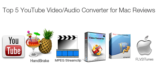Top 5 YouTube Video Converters for Mac