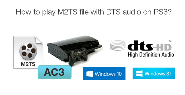 Convert M2TS with DTS Audio to AC3 for Playback on PS3
