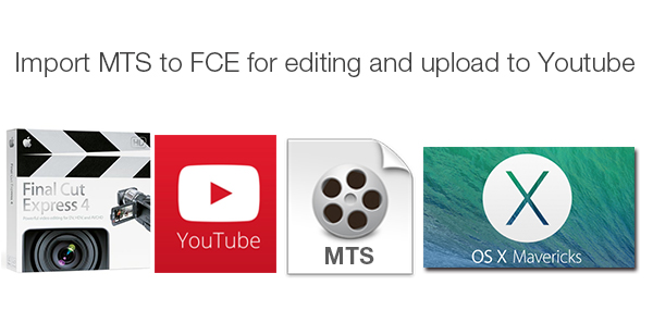 Import MTS to FCE for Editing and Uploading to YouTube