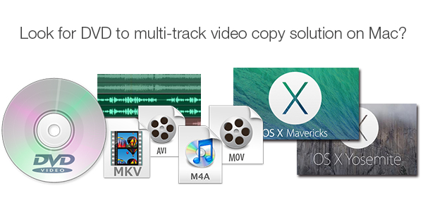 Look for DVD to Multi-track Video Copy Solution on Mac?