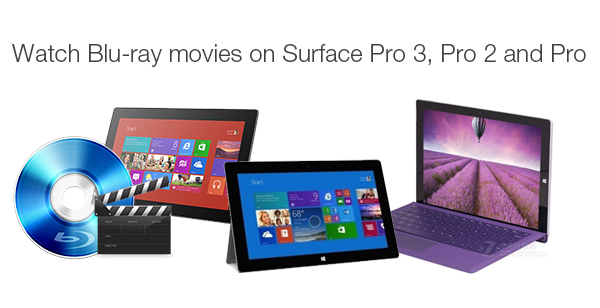 Rip and Copy Blu-ray to Surface Pro 3, Pro 2 and Pro