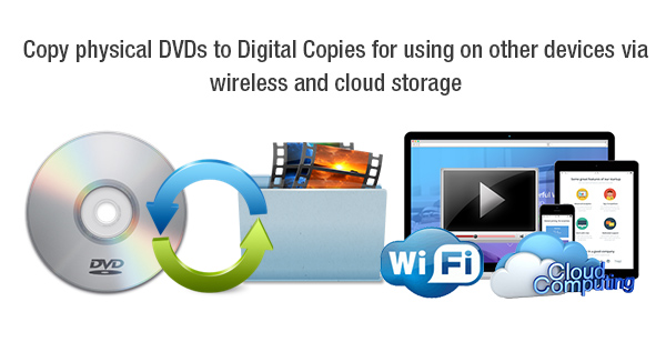 How to Play DVDs via Cloud and over Wireless Network?