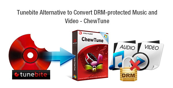 Tunebite Alternative to Convert DRM-protected Music and Video