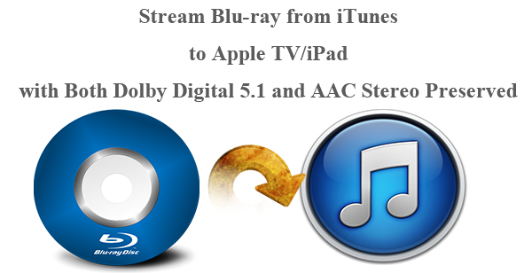 Rip Blu-ray to iTunes to Watch on Apple TV 3 and iPads with Dolby Digital 5.1 and AAC Stereo