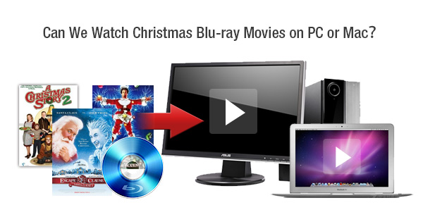 Can We Watch Christmas Blu-ray Movies on PC or Mac?