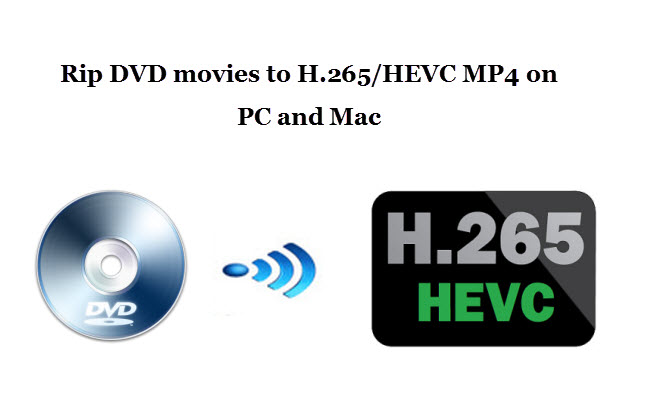Convert DVD to H.265/HEVC MP4 for playback on TV