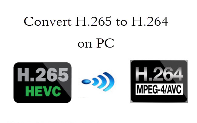 Encode H.265/HEVC videos to H.265 MP4 or H.264 MP4