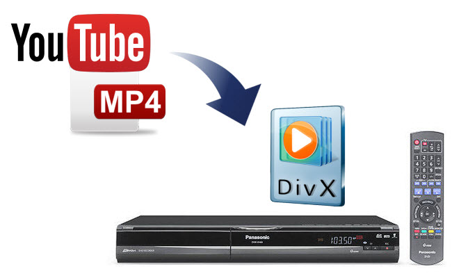 What should I do to make YouTube MP4 Captures playable on Panasonic DVD player?