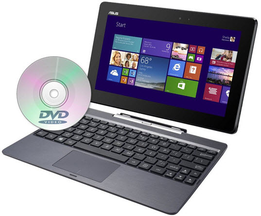 Convert DVD Movies to Asus Transformer Book T200 for Enjoying