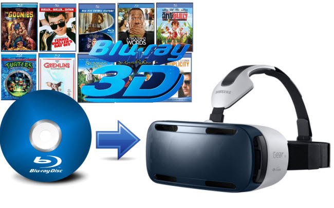 How to convert 3D Blu-ray to 3D SBS MKV for Samsung Gear VR?