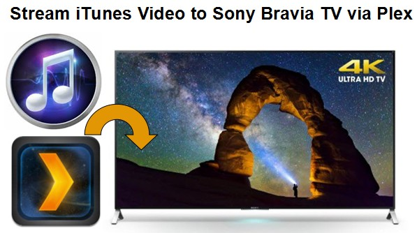 Play iTunes Purchased/Rented Movie/TV Show on Sony Bravia TV via Plex