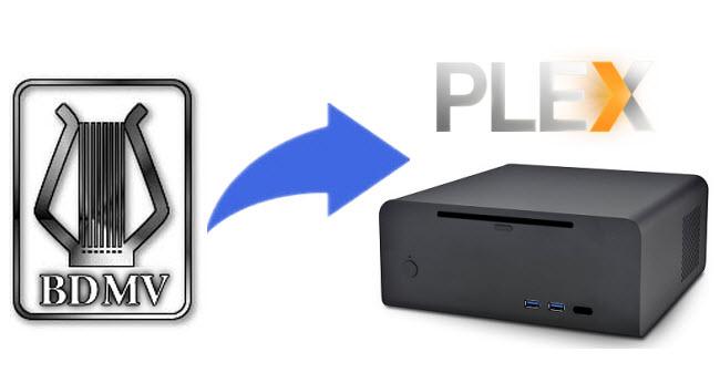 Play BDMV folder on HTPC via Plex Media Server