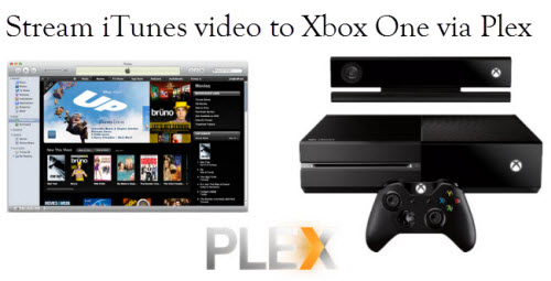 Transfer iTunes movie/music to Xbox One via Plex media server