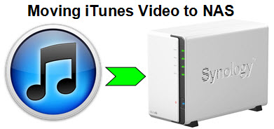 How to Transfer and Convert iTunes Video to NAS for Sharing?