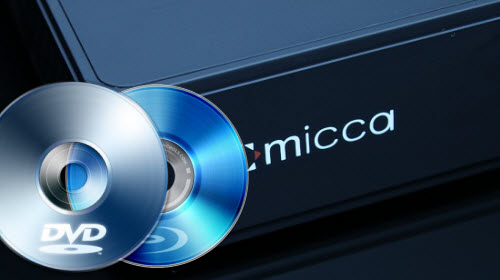 The way to watch Blu-ray/DVD on Micca Media Player