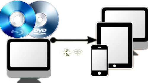 Play Blu-ray/DVD on iPad/iPhone via StreamToMe