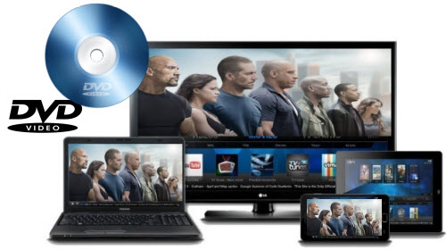 How to transfer DVD movie Furious 7 to PC, TV, or portable device?