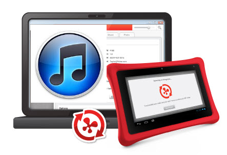 How to Play iTunes Purchased or Rented Videos on Nabi 2/2S?
