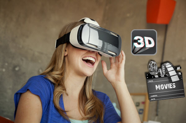 Play and Watch 3D Yify Movie on Samsung Gear VR with 3D SBS format