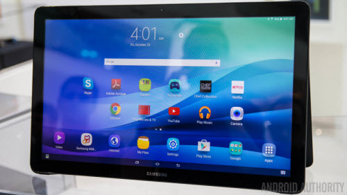 Samsung Galaxy View Supported Video and Audio File Formats for Playing