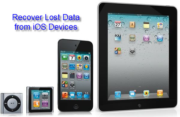 How to Recover Deleted or Lost Files from iPhone/iPad/iPod?