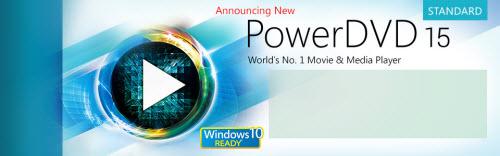 Transcode and Play H.265/HEVC 4K Video on PowerDVD 15 Standard