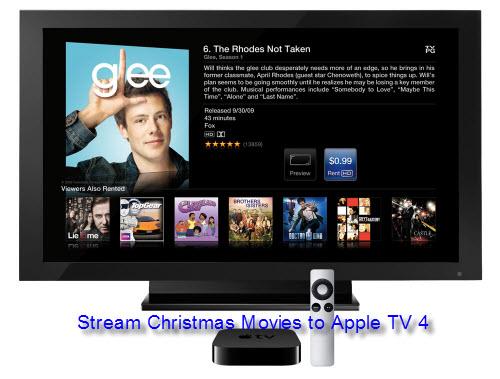 Stream and Play Blu-ray/DVD/Video Christmas Movies on Apple TV 4